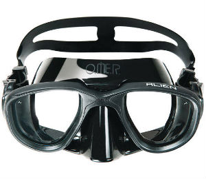 Different Types of Masks Used in Diving